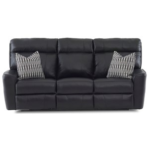 Klaussner Elara Power Reclining Sofa w/ Pillows & Pwr Head