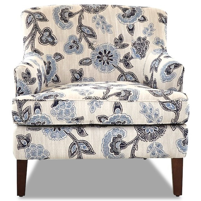 Elizabeth Occasional Chair by Klaussner at Johnny Janosik