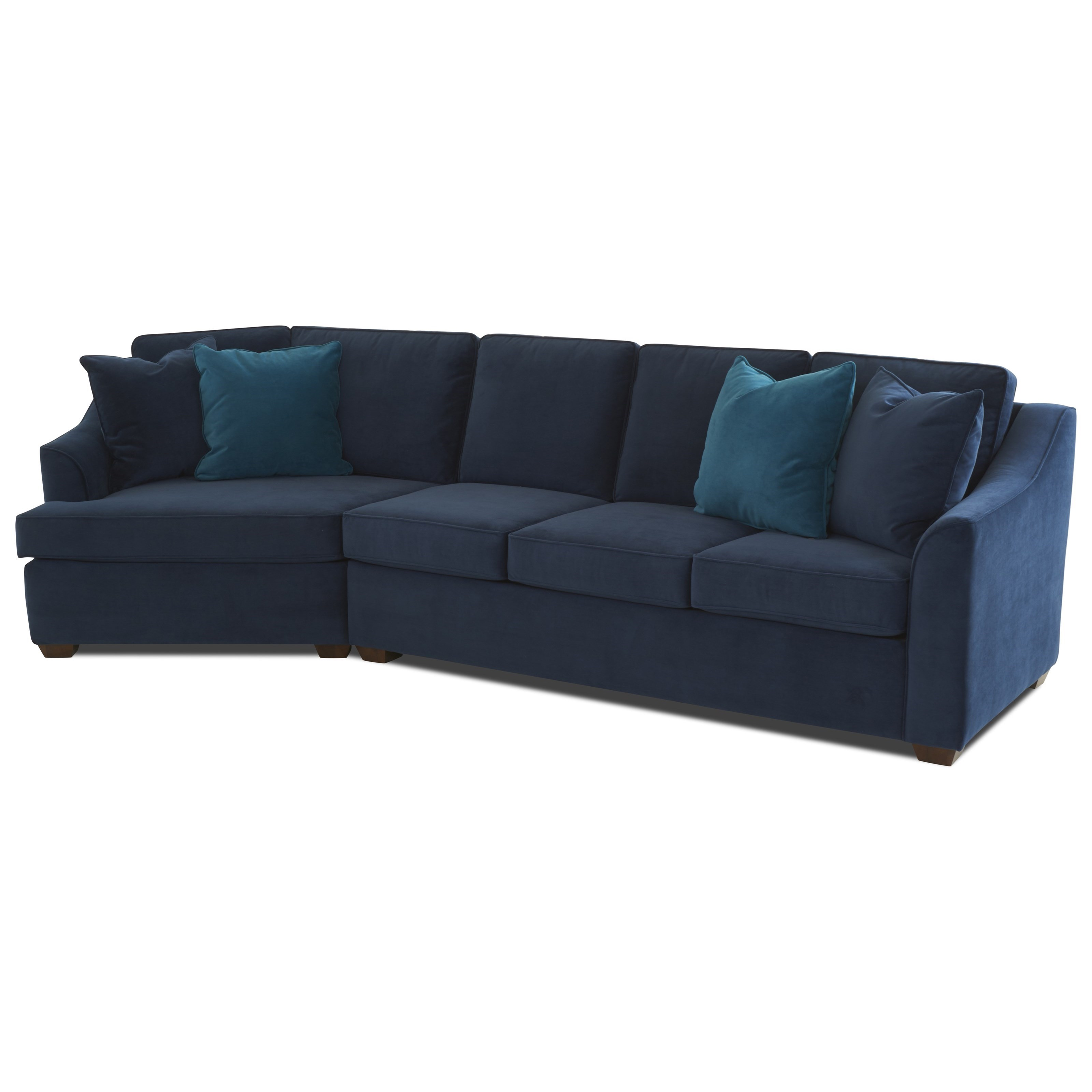 Fine Elle 2 Piece Sectional Squirreltailoven Fun Painted Chair Ideas Images Squirreltailovenorg