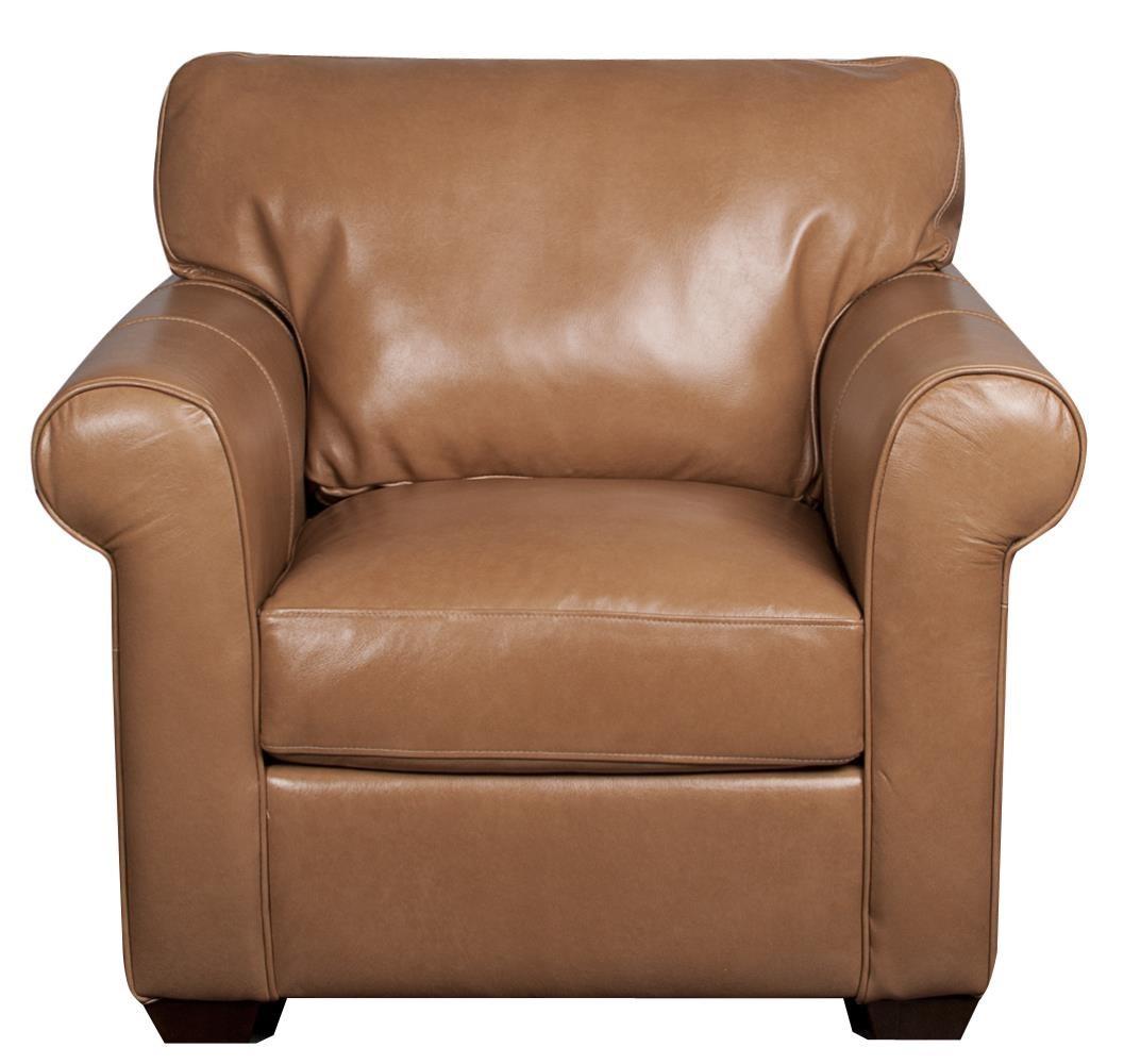 Elliston Place Eloise Eloise 100% Leather Chair - Item Number: 572405498