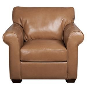 Elliston Place Eloise Eloise 100% Leather Chair