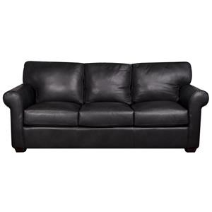 Elliston Place Eloise Eloise 100% Leather Sofa