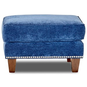 Klaussner Emmy Ottoman w/ Nails