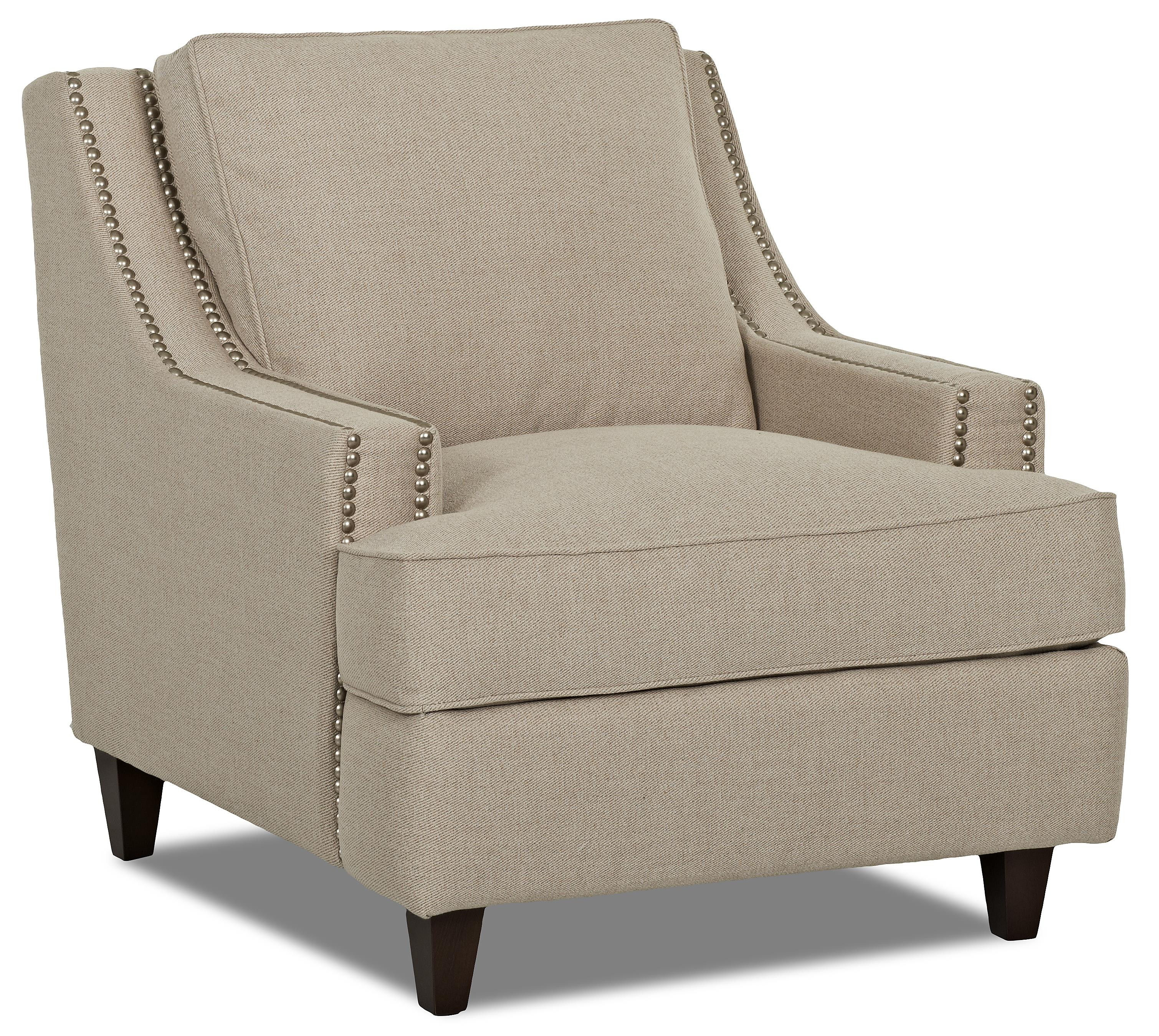 Klaussner Empress Power Hybrid Chair - Item Number: D78313 PWHC-DeauvilleVanilla
