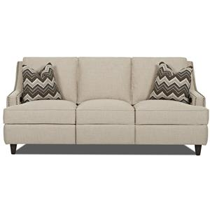Klaussner Empress Power Hybrid Sofa