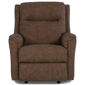 Elliston Place Evans Power Rocking Recliner with Power Headrest
