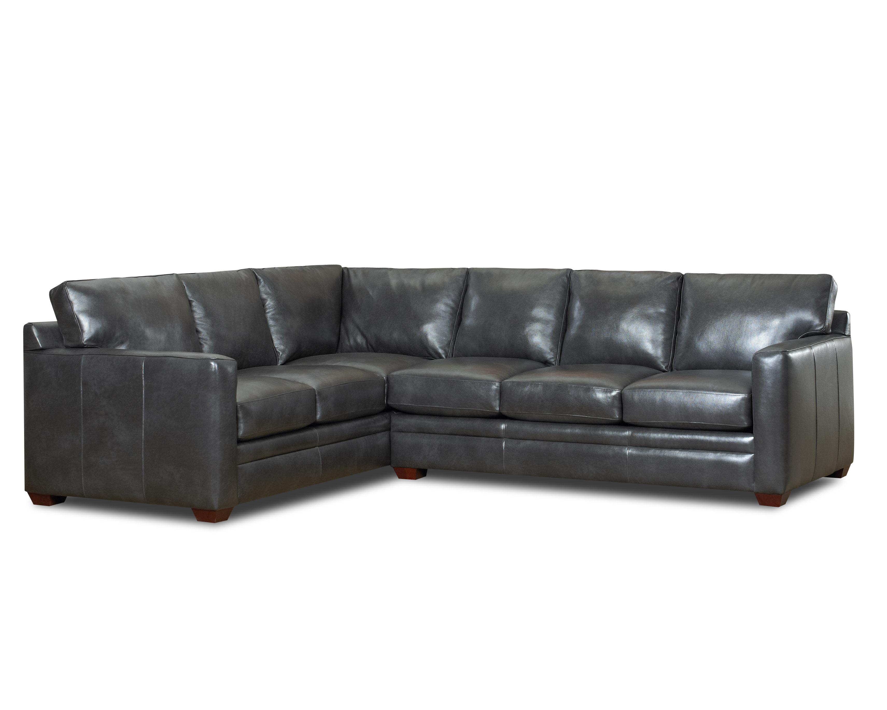 Klaussner Fedora 2 Pc Sectional Sofa - Item Number: LD50900R CRNS+LT50900L S