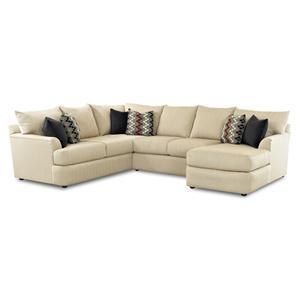 Belfort Basics Madison Sectional Sofa