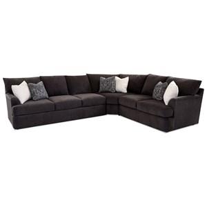 3-Piece Sectional Sofa w/ LAF Sofa