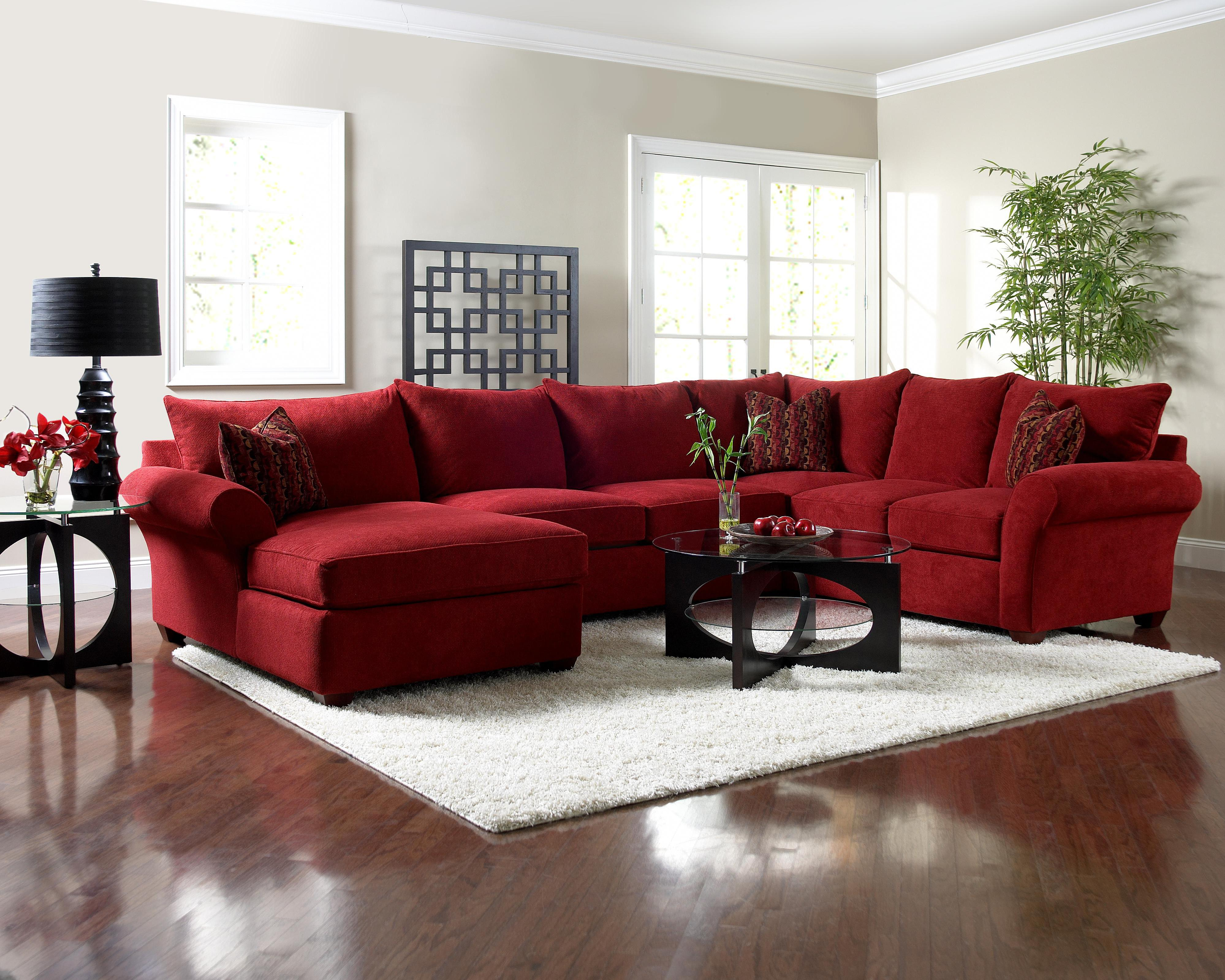 Klaussner Fletcher Sectional Sofa With Chaise Hudson S