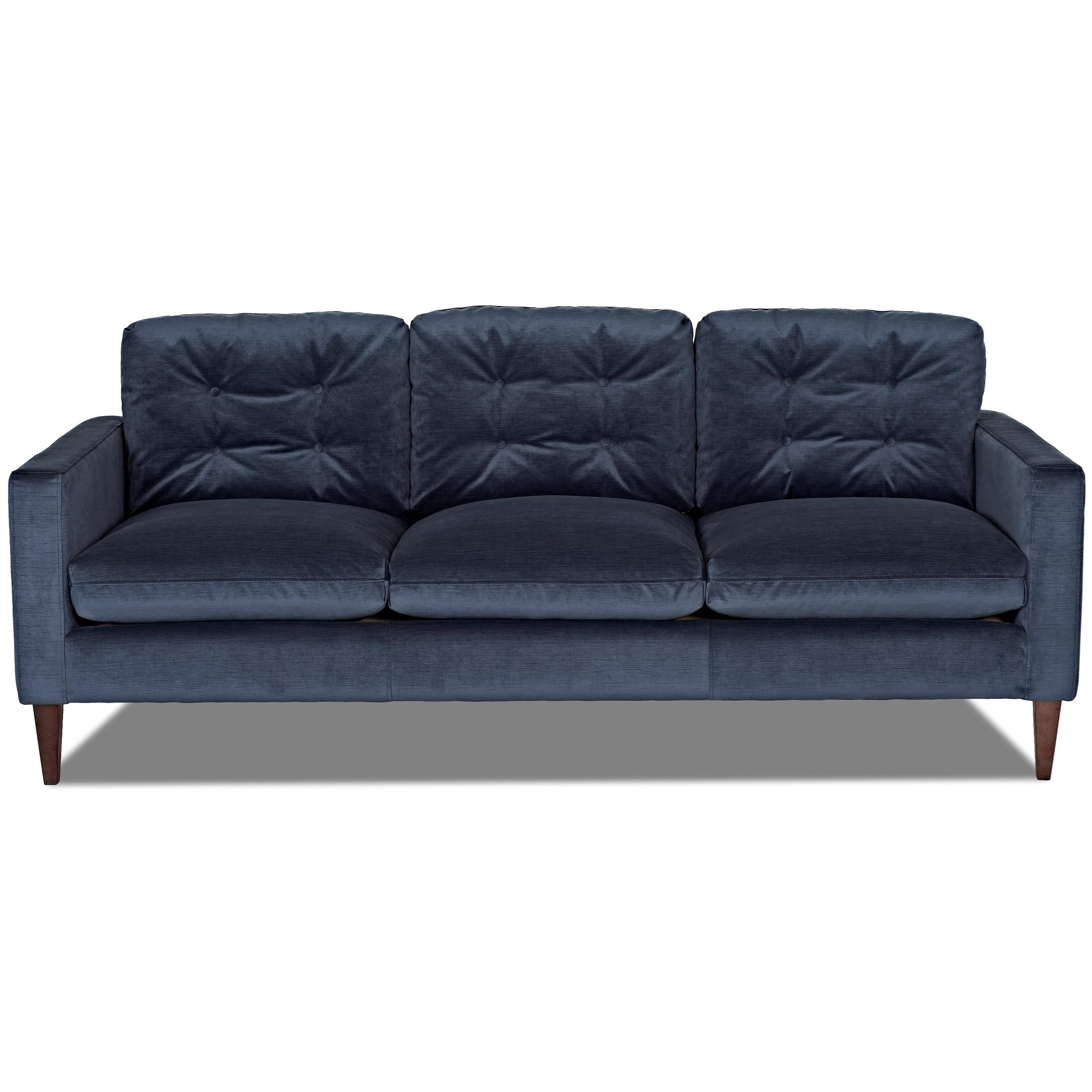 Klaussner Florence Sofa Item Number D2200 S Empire Shadow