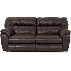 Klaussner Freeman Casual Power Reclining Love Seat