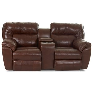 Klaussner Freeman Casual Reclining Love Seat