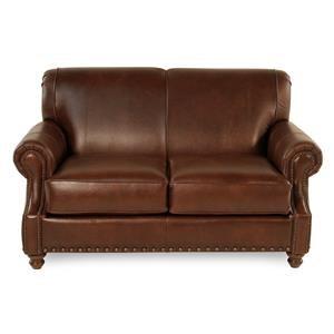 Simple Elegance Abilene Leather Loveseat