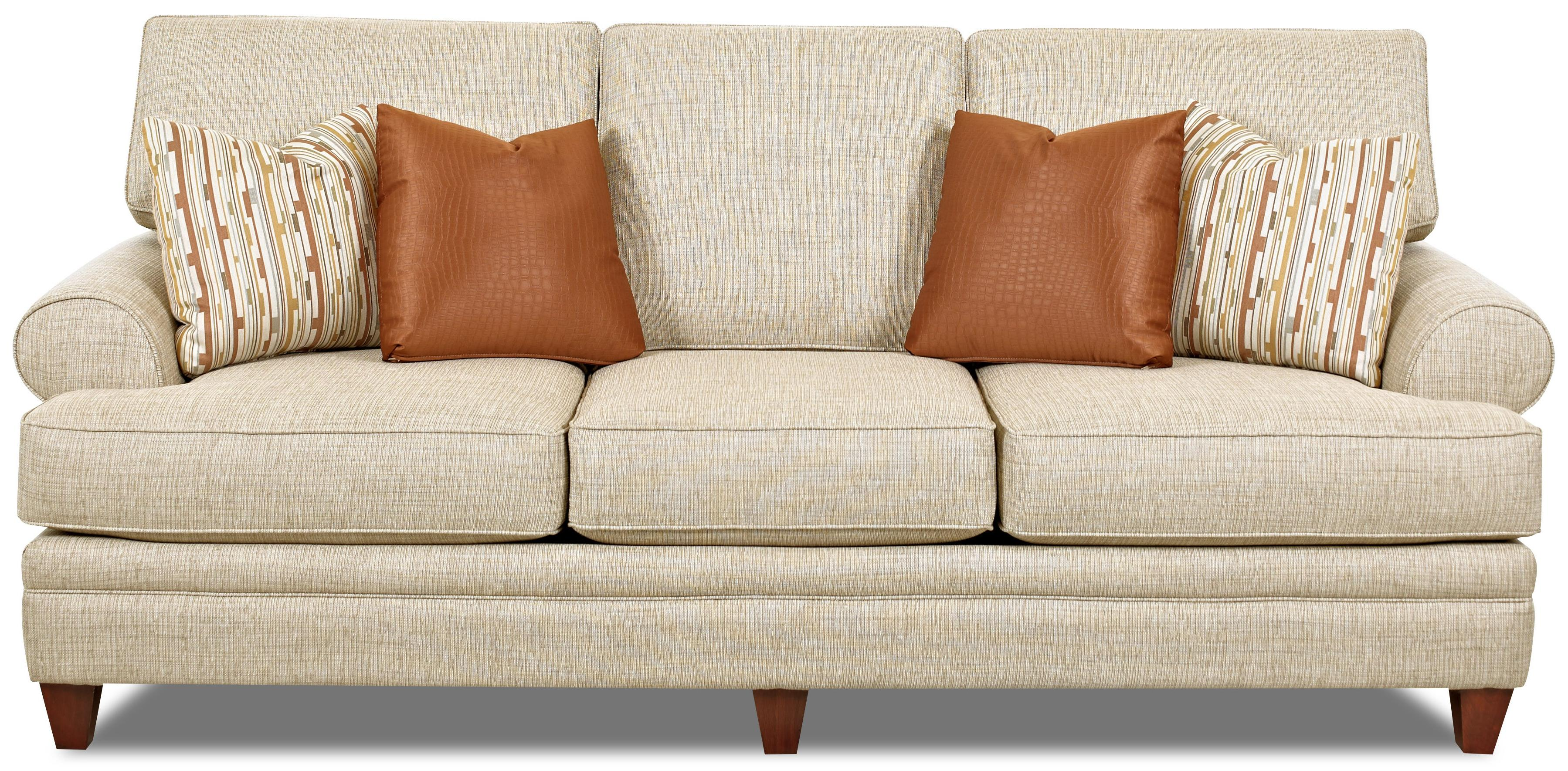 Klaussner Fresno Transitional Sofa With