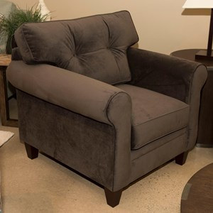 Klaussner Gates Chair w/ Button Tufting