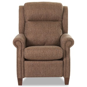 Power High Leg Recliner w/ Nails & Pwr Head