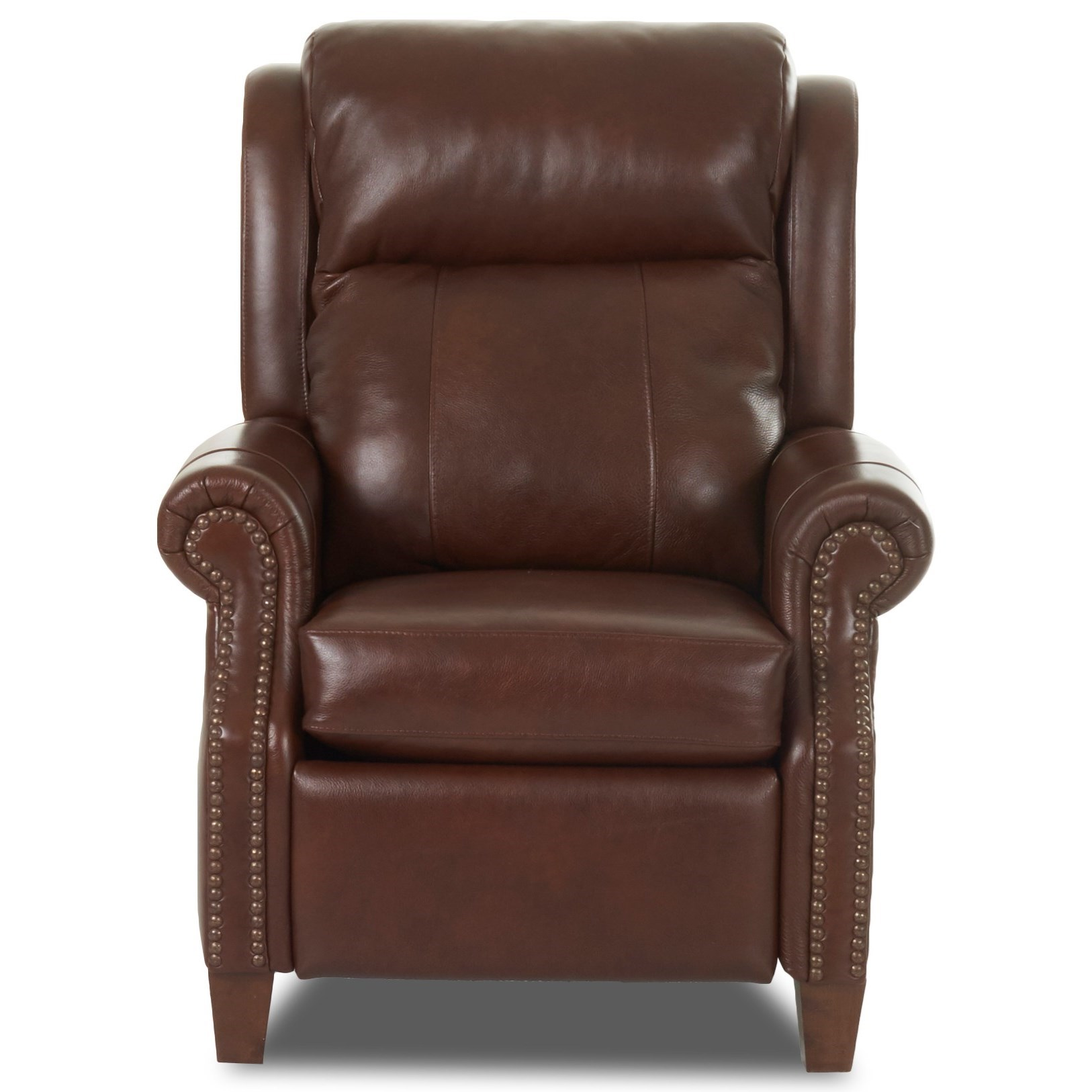 Power High Leg Recliner w/ Nailheads