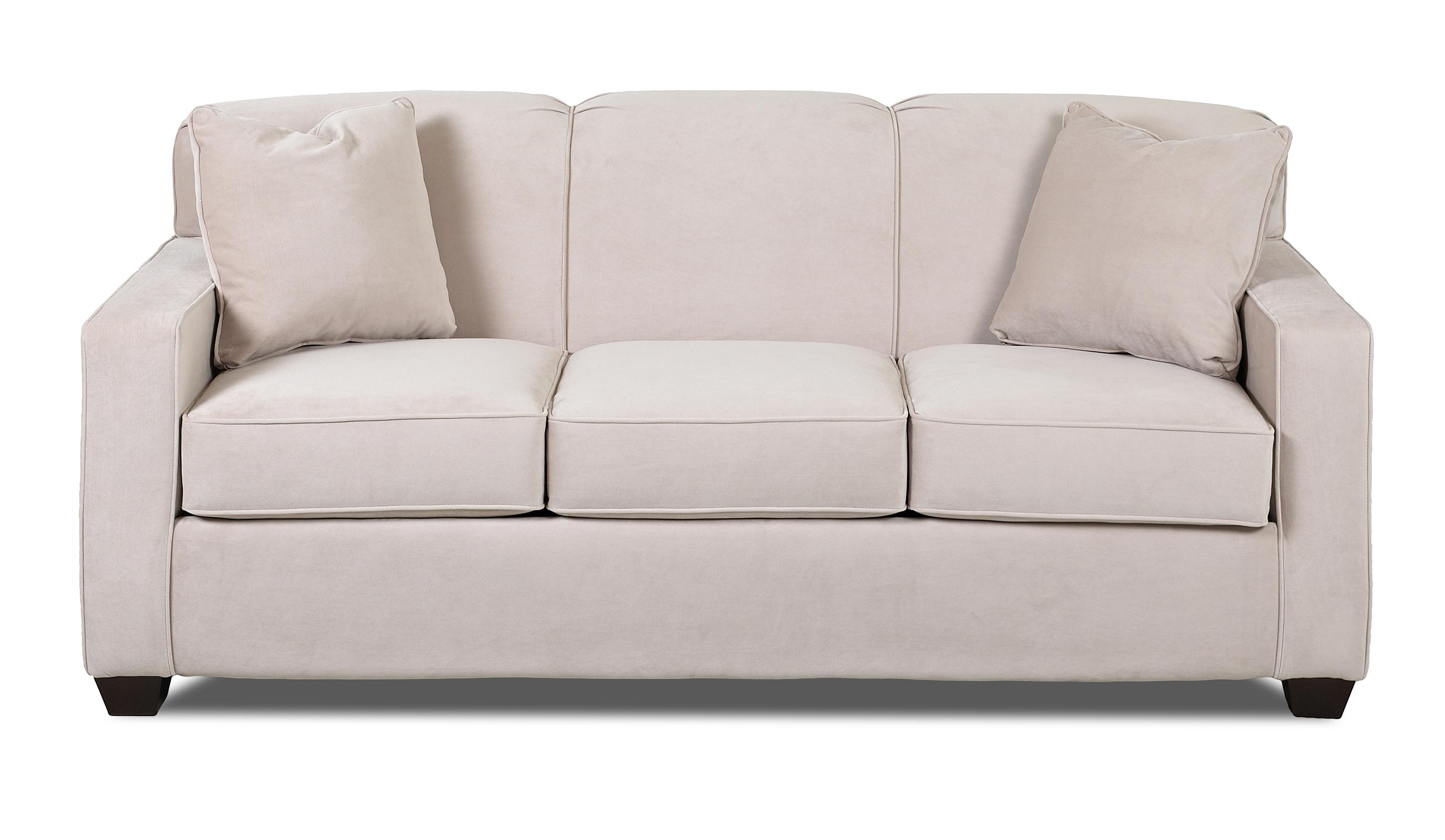 Klaussner Gillis Contemporary Innerspring Queen Sleeper Sofa With  ~ Sleeper Sofa Knoxville Tn