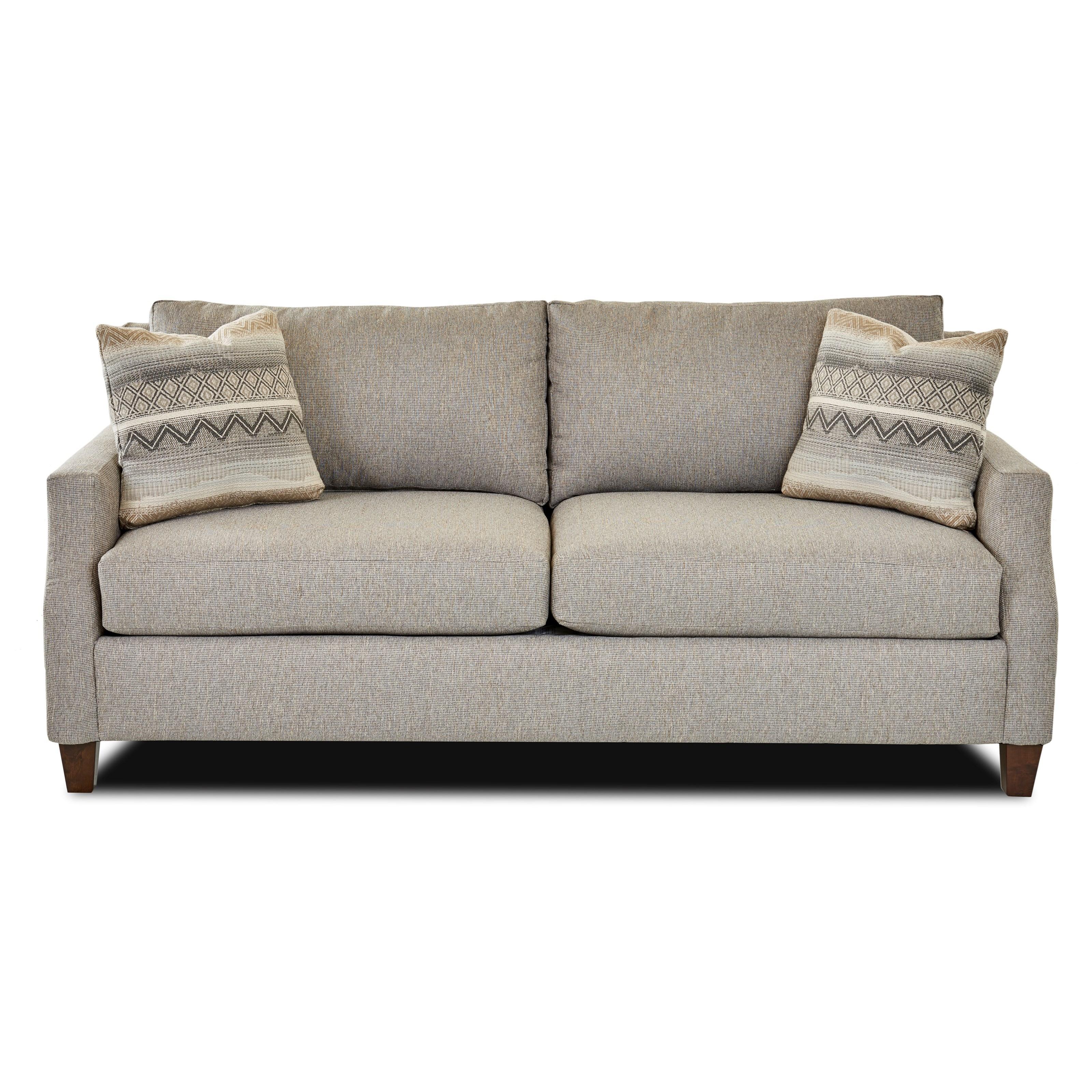 Gilman Transitional 2 Seat Sofa by Klaussner at Pilgrim Furniture City