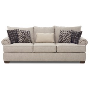 Transitional Sofa w/ Nailhead Trim