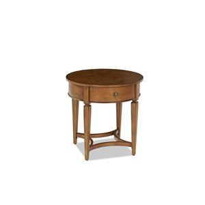 Elliston Place Glendale Glendale Circular End Table