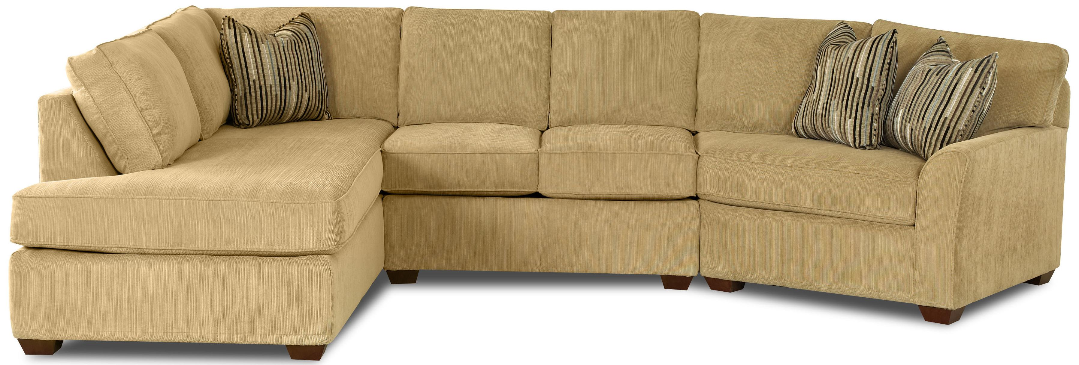 Klaussner Grady Sectional - Item Number: K55200L SCHS+AS+R BC