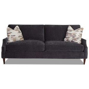 2-Over-2 Sofa with Arm Pillows