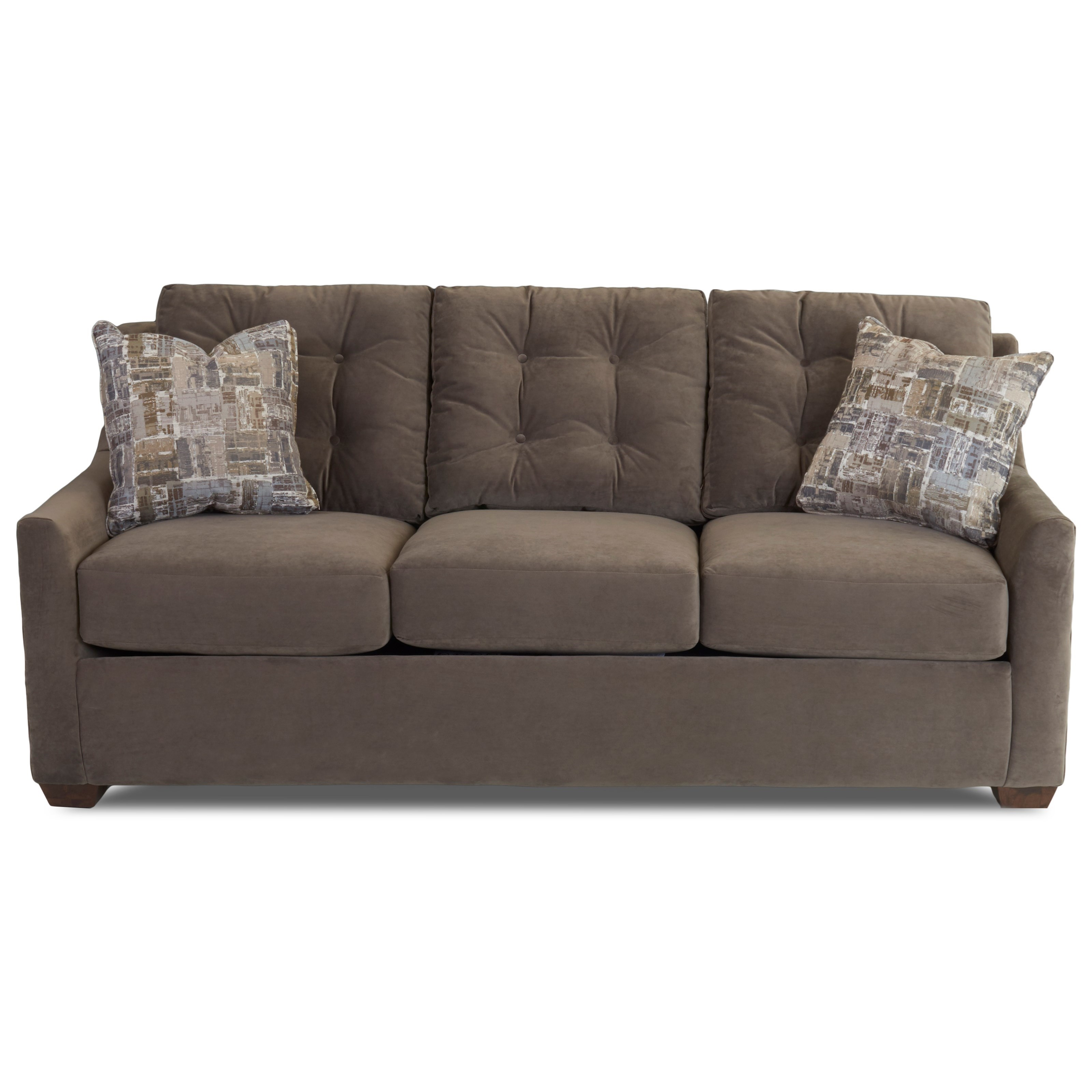Grayton Queen Air Dream Sleeper Sofa by Klaussner at Johnny Janosik