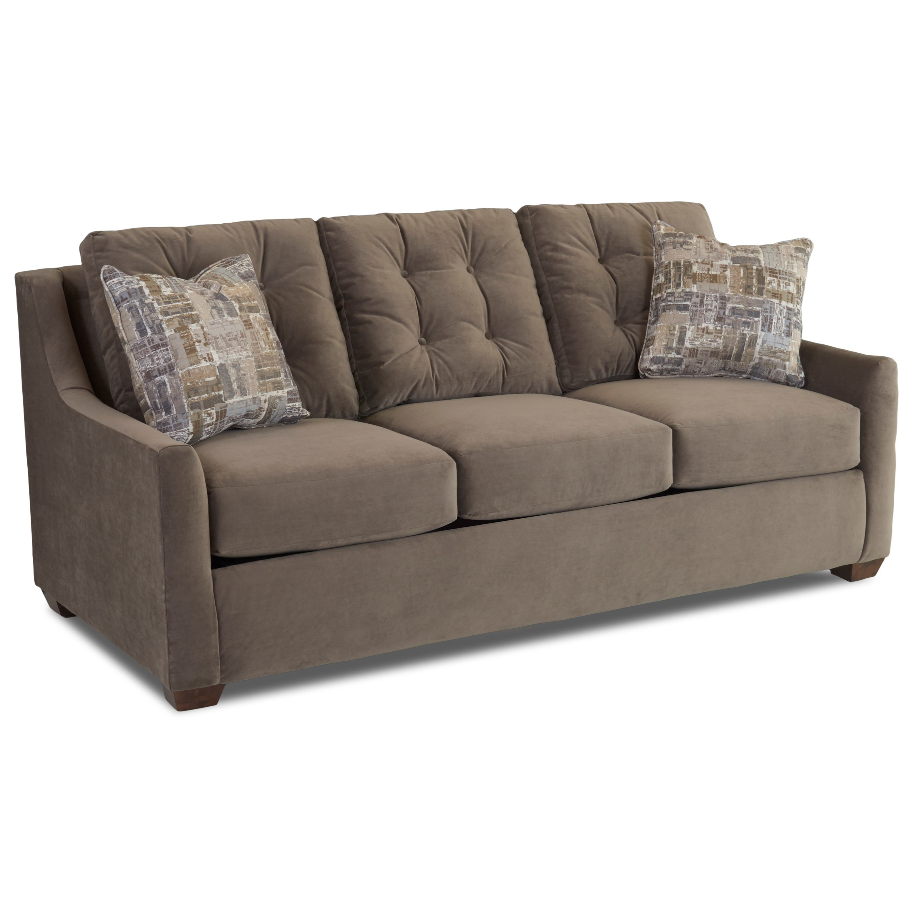 Klaussner Grayton Queen Enso Memory Foam Sleeper Sofa With