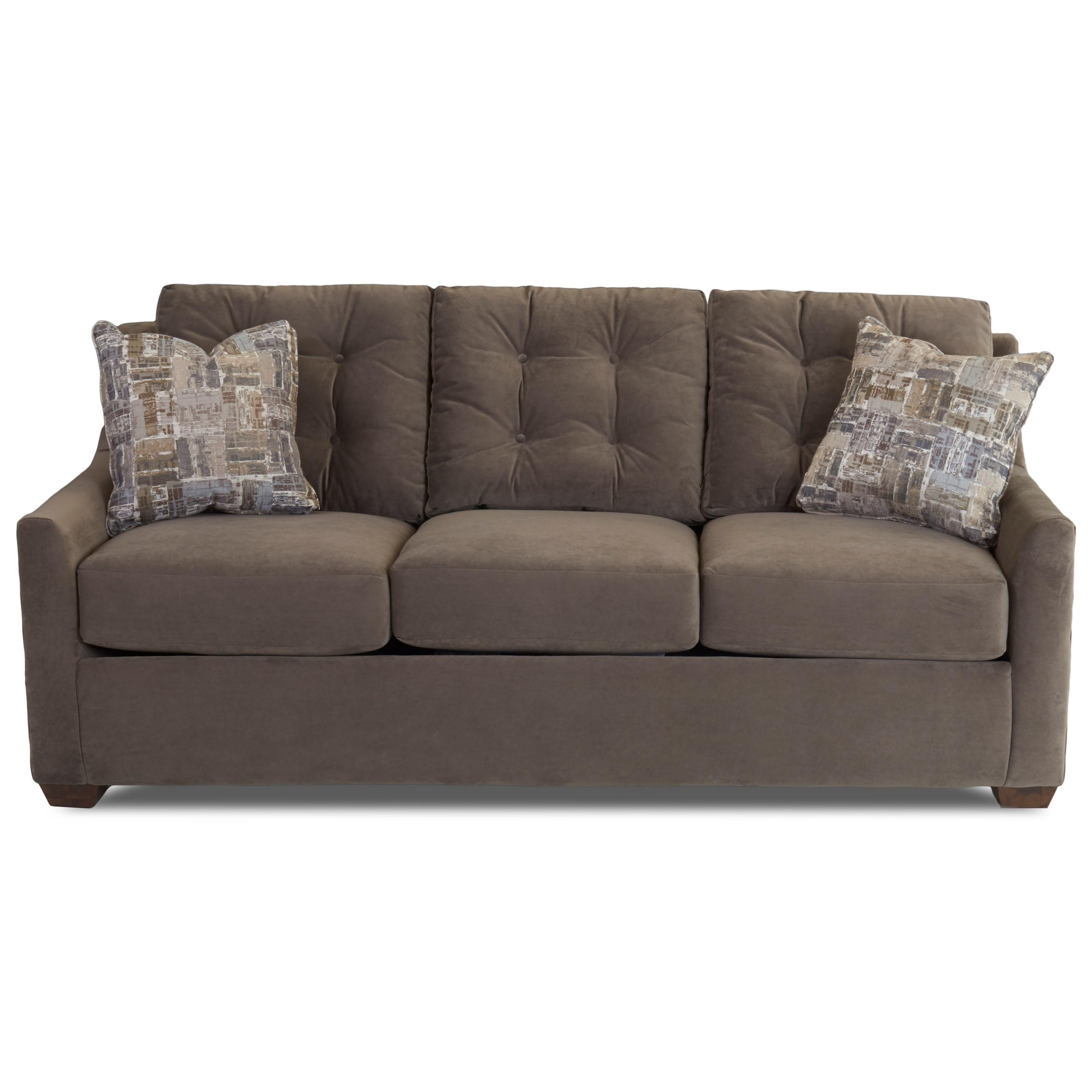 Grayton Queen Innerspring Sleeper Sofa by Klaussner at Johnny Janosik