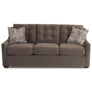 Queen Innerspring Sleeper Sofa