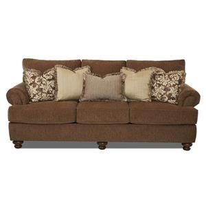 Metropia Gannon Traditional Stationary Sofa