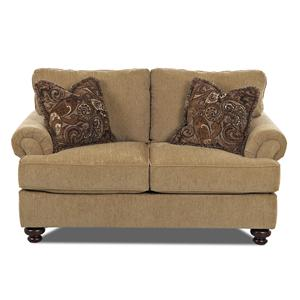 Klaussner Greenvale Traditional Loveseat