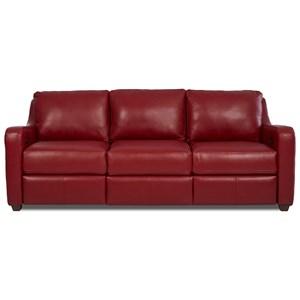 Klaussner Greer Power Hybrid Sofa
