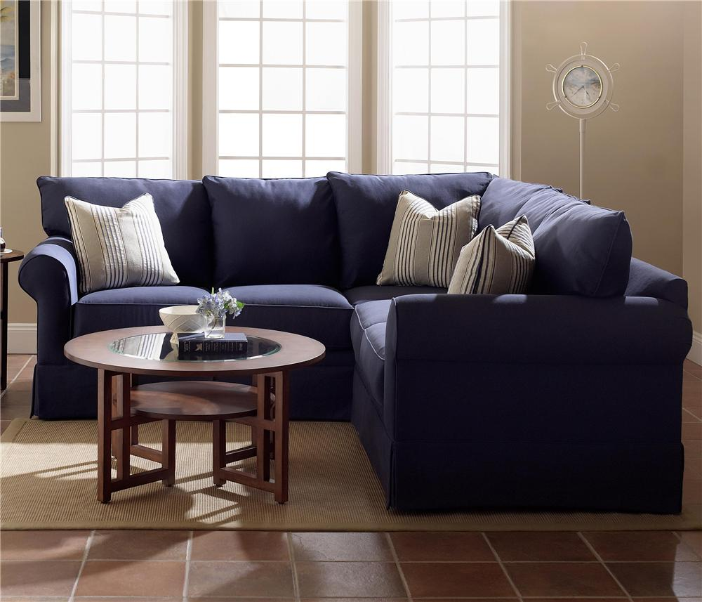 Klaussner Grove Park Sectional Sofa Group - Item Number: K7000ALS+RCRNS