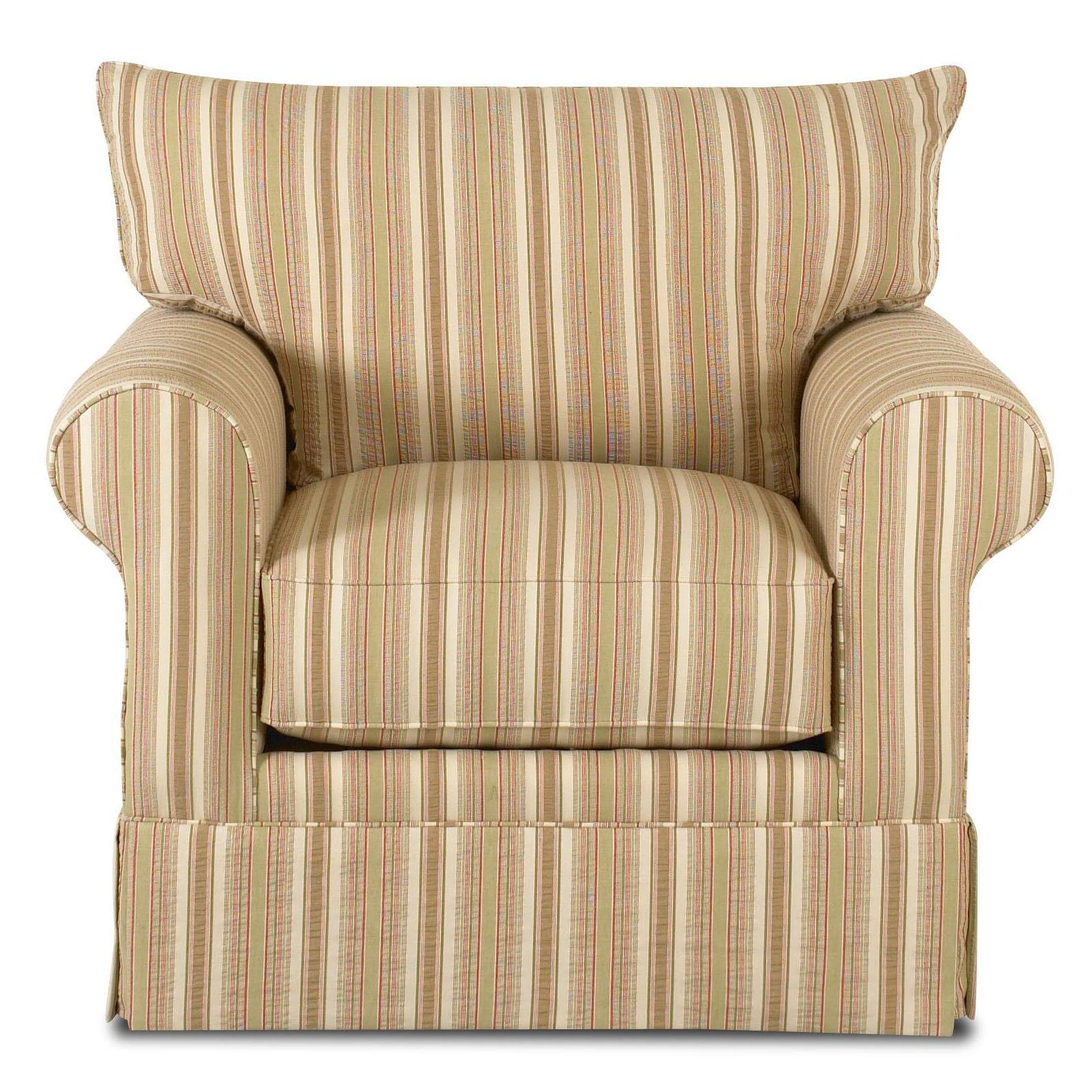 Klaussner Grove Park Upholstered Chair - Item Number: K7000C