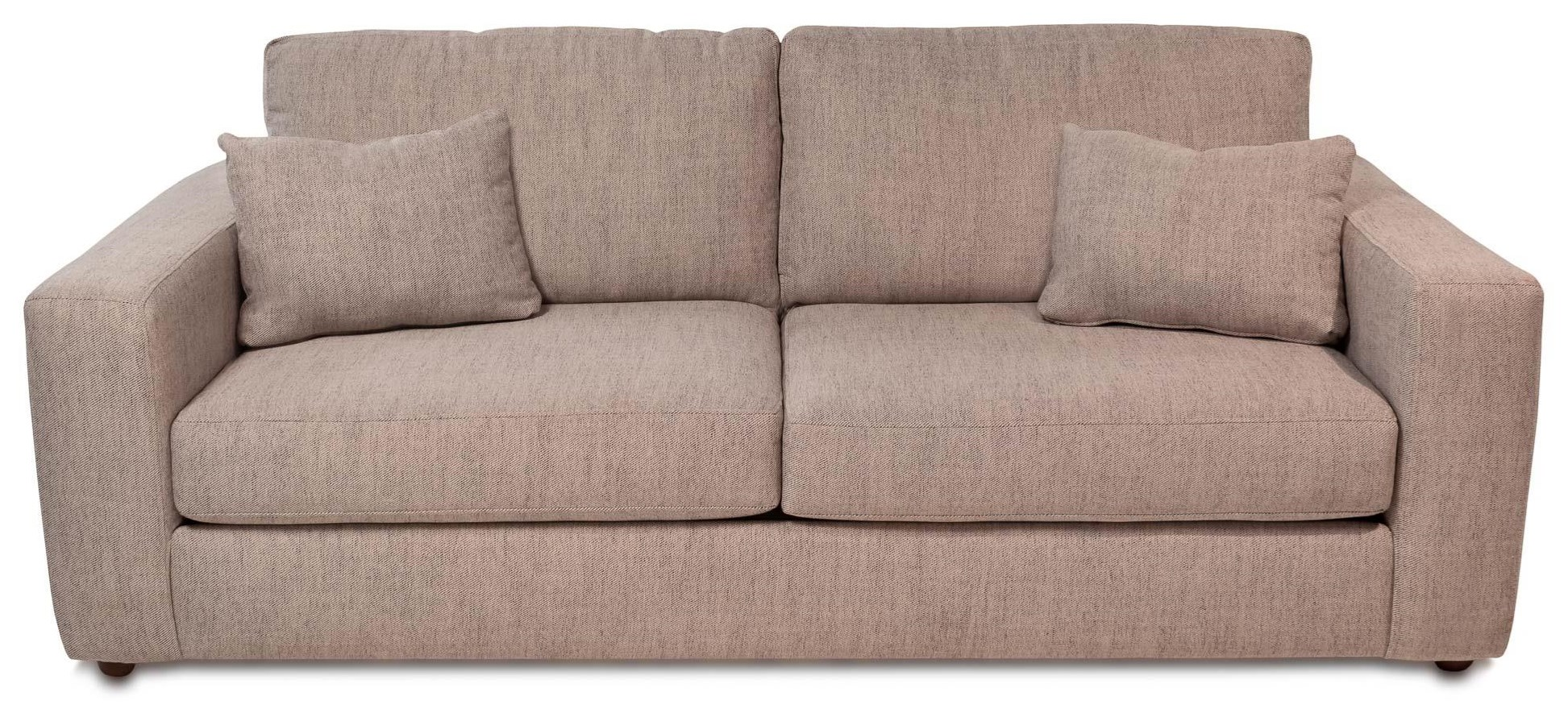 Healey Contemporary 2-Seat Sofa w/ Wide Track Arms | Rotmans | Sofas