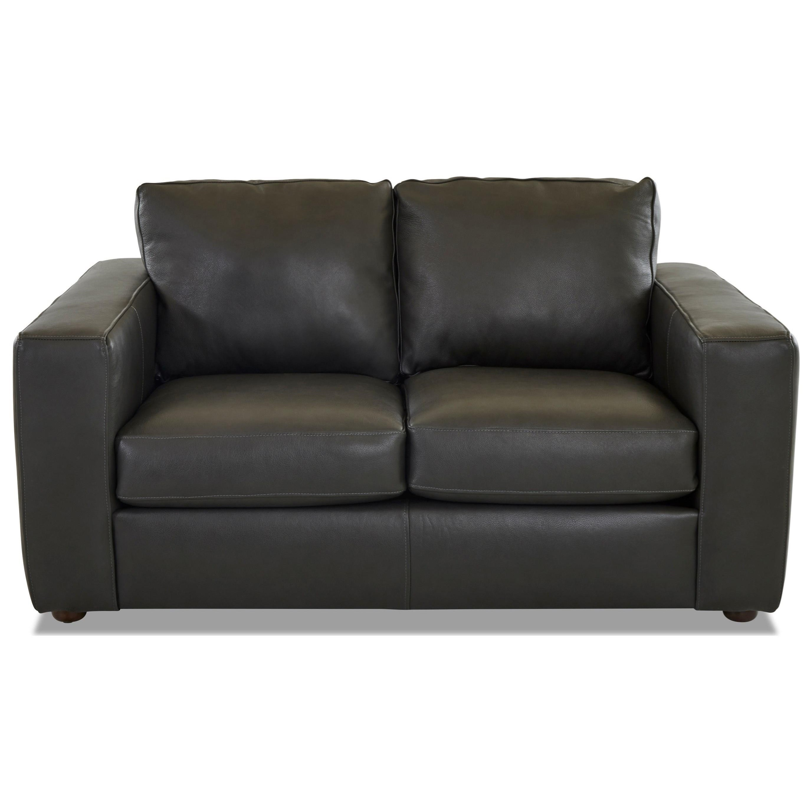 Gus Contemporary Loveseat by Klaussner at Johnny Janosik