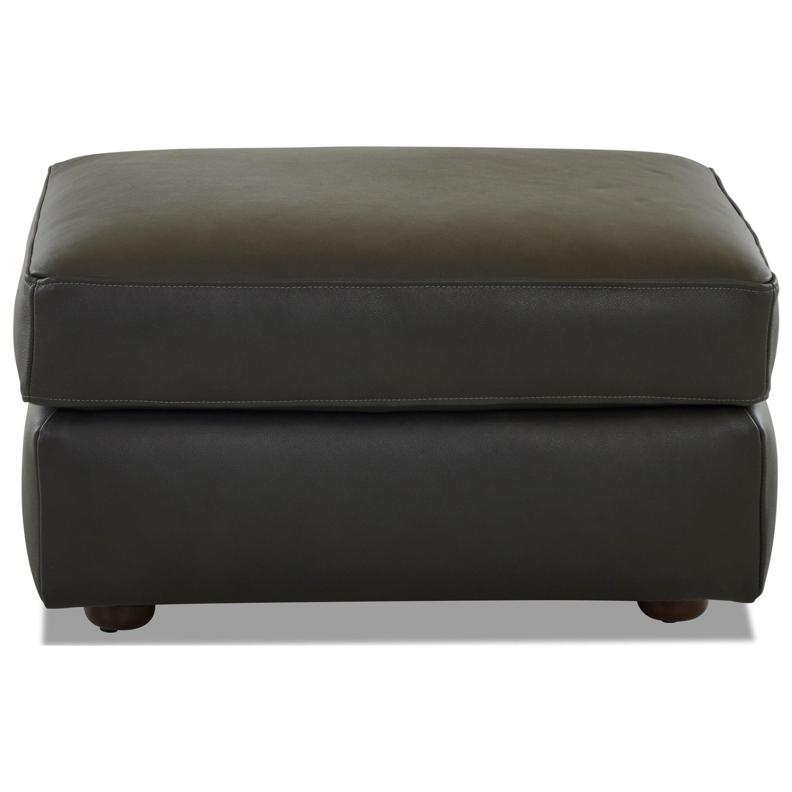 Gus Ottoman by Klaussner at Johnny Janosik