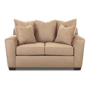 Elliston Place Heather Upholstered Loveseat
