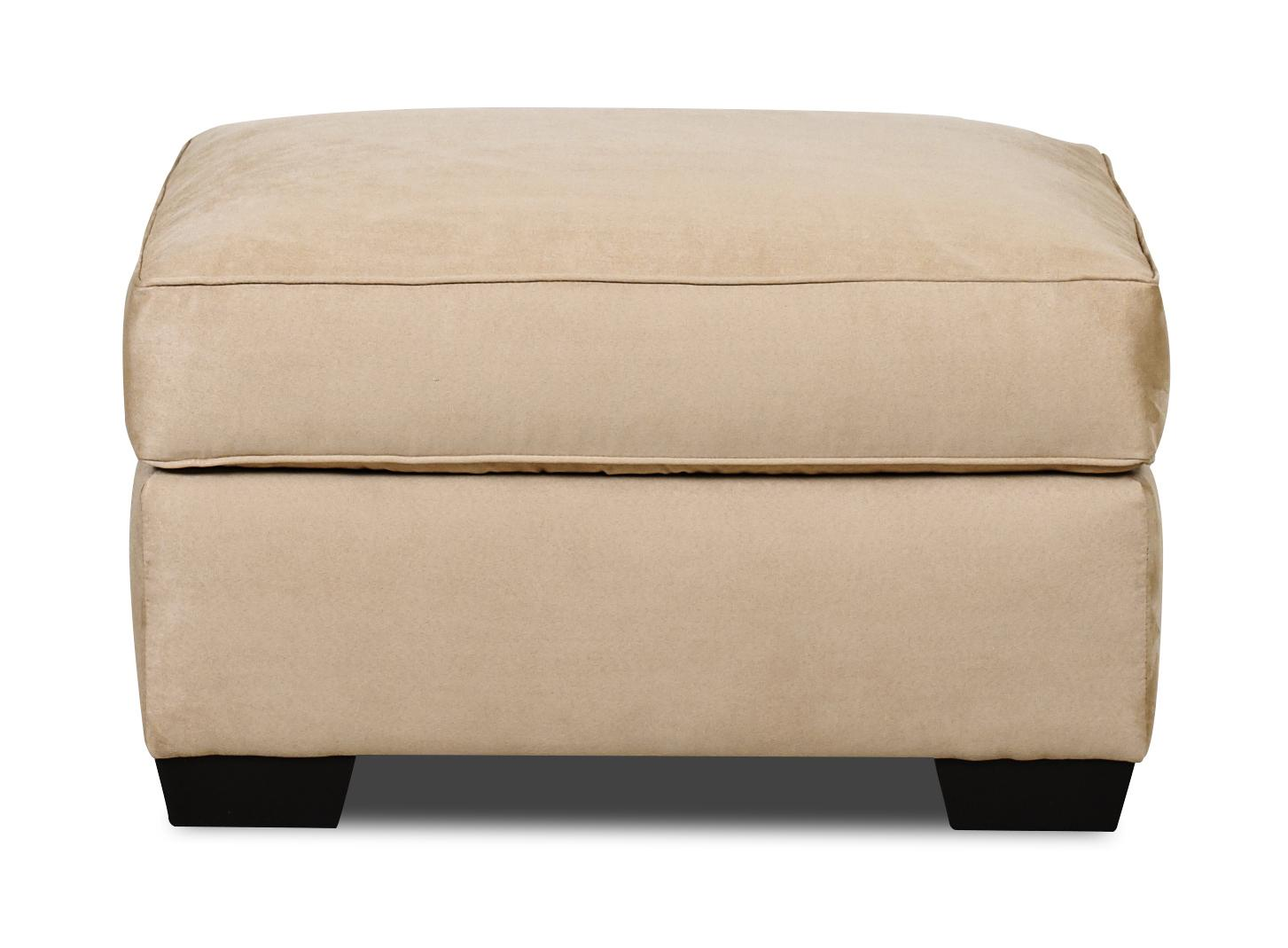 Klaussner Heather Ottoman - Item Number: E56044OTTO