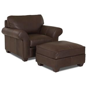 Elliston Place Heathmont Chair & Ottoman Set