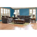 Klaussner Heights Stationary Living Room Group - Item Number: E13 Living Room Group 3