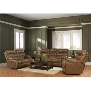 Klaussner Hercules Casual Living Room Group