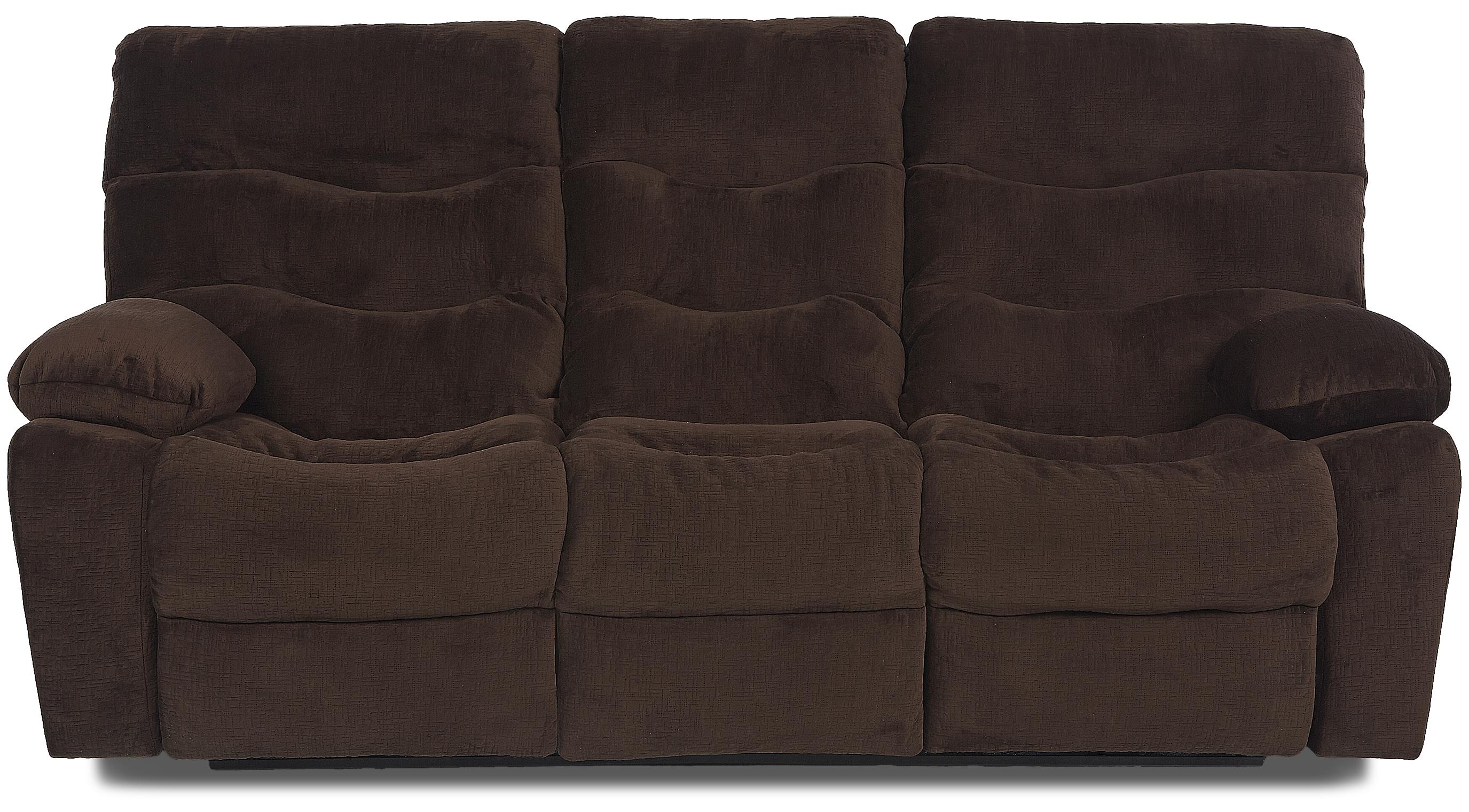 Klaussner Hercules Power Reclining Sofa - Item Number: 27403 PWRS-EtchChocolate