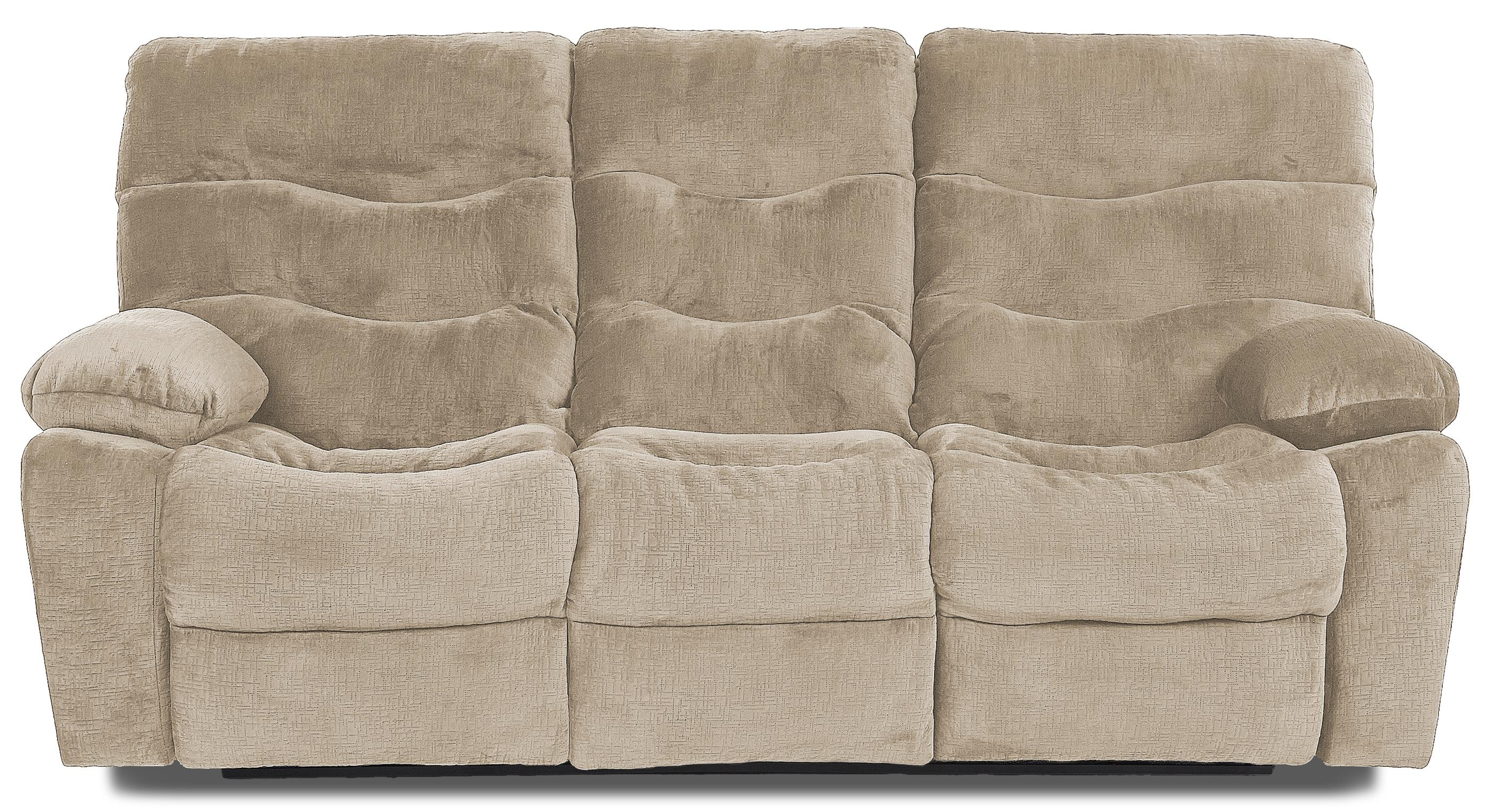 Klaussner Hercules Power Reclining Sofa - Item Number: 27403 PWRS-EtchToast