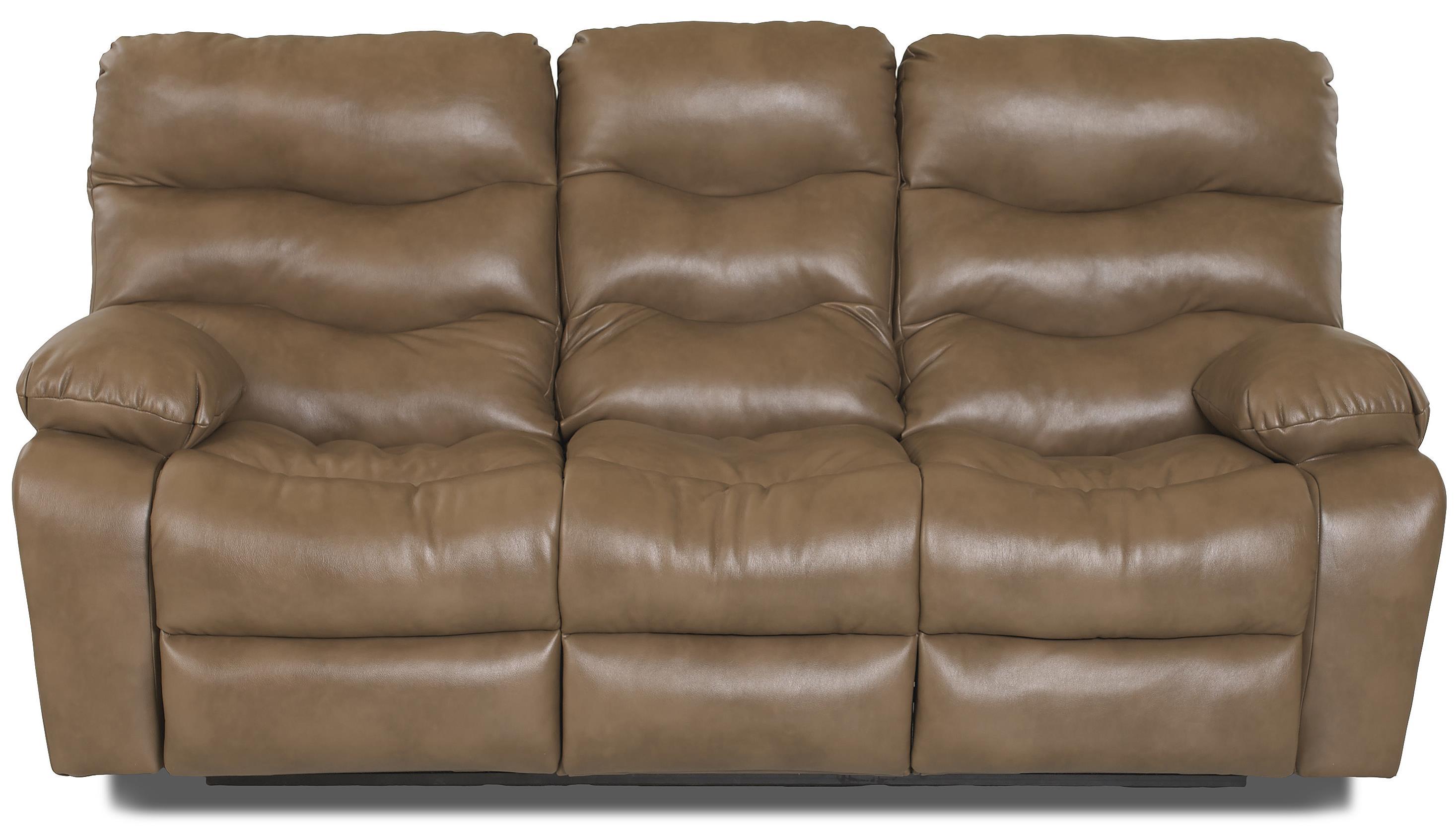 Klaussner Hercules Power Reclining Sofa - Item Number: 27403 PWRS-JuniperWalnut