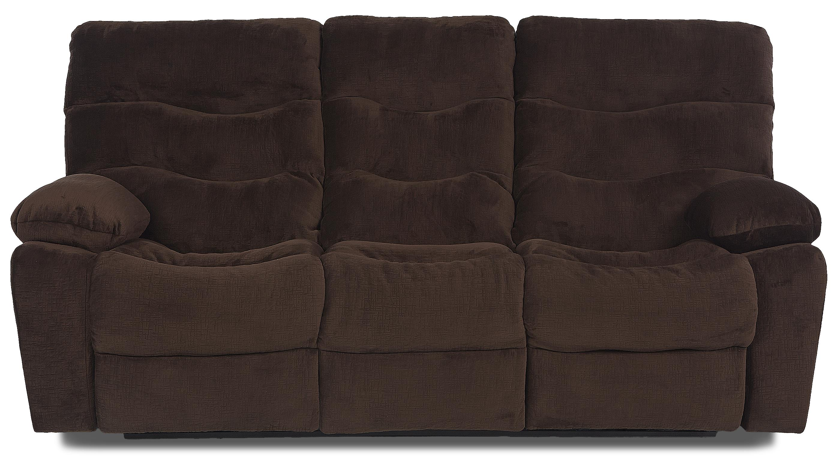 Klaussner Hercules Reclining Sofa - Item Number: 27403 RS-EtchChocolate