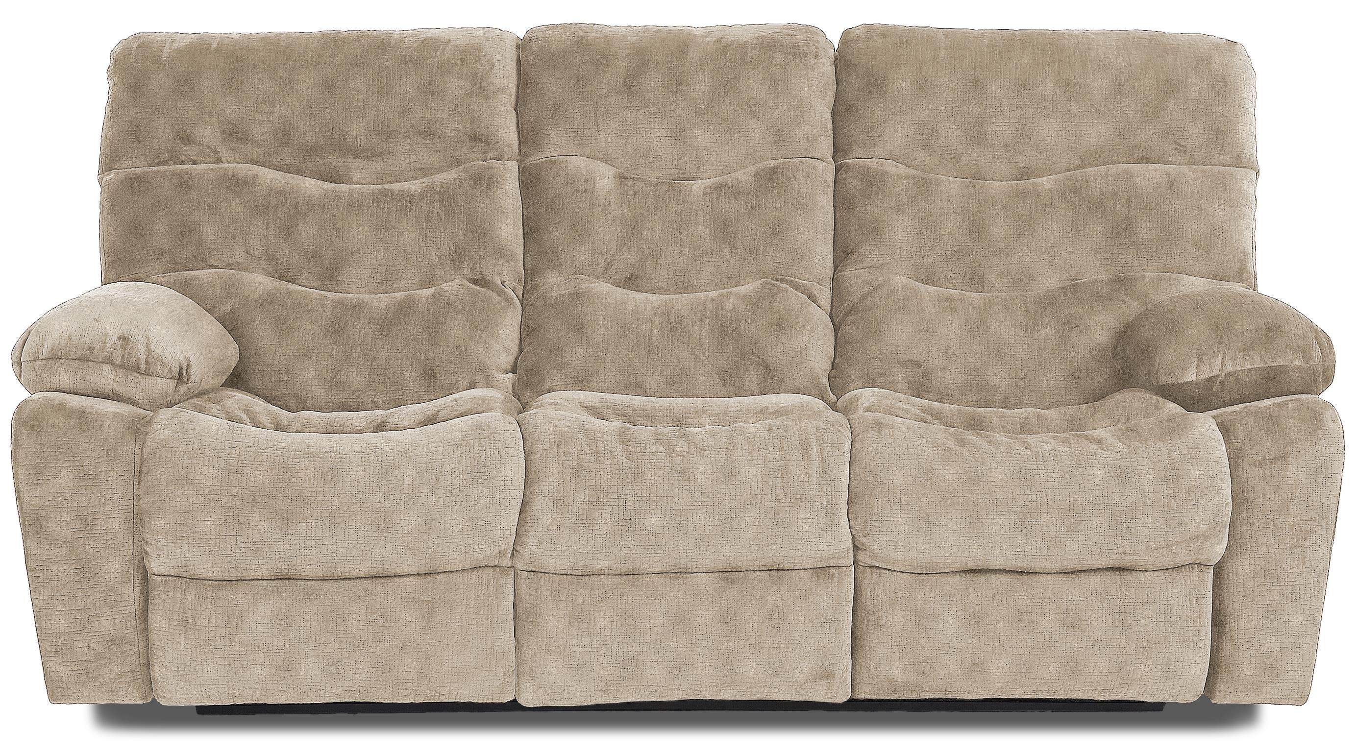 Klaussner Hercules Reclining Sofa - Item Number: 27403 RS-EtchToast